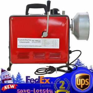 Updated 3 4 6 Electric Pipe Drain Cleaner Cleaning Machine Commercial Sewage
