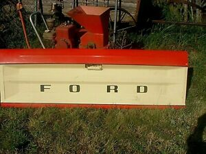 Vintage Rare Color Man Cave Ford Tailgate Truck Original 1960s 1970s Bench Seat