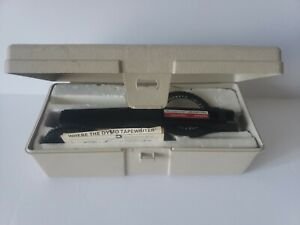 Vintage Dymo 1575 Executive 3 Tapewriter Label Maker Excellent With Case