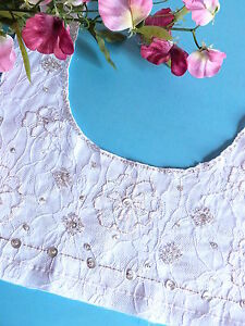 319 Charming Neckband Application Princess Lace Sequin Pearl Shabby Chic