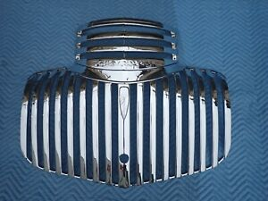 1941 6 Chevy Truck Grill Triple Chrome Show Quality