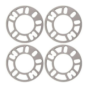 4pcs 3 10mm Aluminum Alloy Wheel Spacers Shims Spacer Universal 4 5 Stud Fit