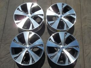 Subaru Ascent 18 Wheels Oem Factory Cnc Rims 18 Outback Legacy Forester 5x114 3