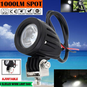 20w Led Car Fog Light Truck Offroad Suv Atv Motorcycle Headlight Work Floodlight