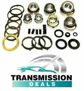 T56 Corvette C5 C6 Tremec 6 Speed Rebuild Kit Bearing Synchro Seals Fork Pads