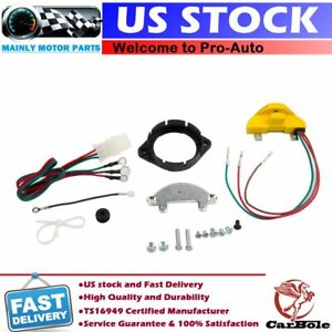 2010acc Distributor Ignition Conversion Points Eliminator Kit For Gm V8 1957 74