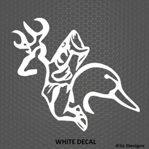 Deer Fish Duck Hunting Outdoors Hunter Vinyl Decal Sticker Choose Color