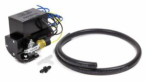 Cvr Performance 12 Volt Electric Vacuum Pump Black Anodized Vp665