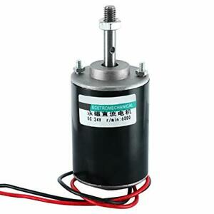 Yaegarden Dc 24v Permanent Magnet Dc Motor Electric Gear Motor Micro Speed