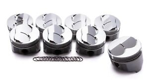 Icon Pistons Sbc Forged Domed Piston Set 4 030 Bore Ic802 030
