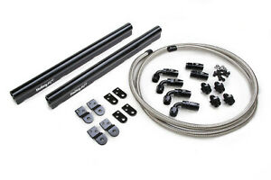 Holley Billet Alm Fuel Rail Kit Gm Ls Factory Intakes 534 210
