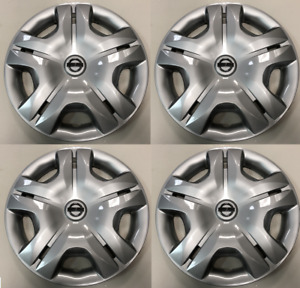 4 X 15 Hubcaps Wheelcover Set Fits Nissan Versa 2010 2011 2012 2013 2014