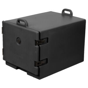 Insulated Food Pan Carrier black