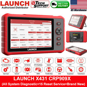 Launch X431 Crp909x Automotive Full System Obd2 Scanner Car Diagnostic Scan Tool