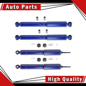 4 Pcs Monroe Shock Absorber Front rear For Suzuki Samurai 1986 1988 1992 1994_la