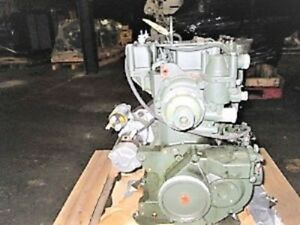 Lister Petter 2 Cyl Diesel Engine 0 Miles