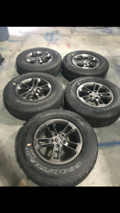 75th Anniversary Jeep Wheels And Tires