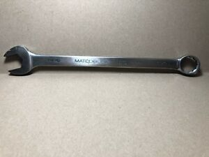 Matco Wcl222 11 16 12 Point Combination Wrench