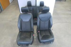 2014 2016 Jeep Wrangler Front Rear Seat Set Lhd Bucket Manual 2 Dr Oem