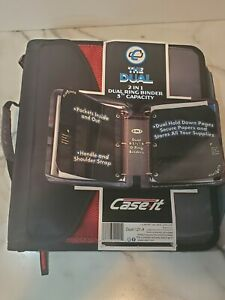 School Case It 3 2 In 1 The Dual Binder So Many Compartments