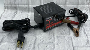 Century Battery Charger Model 87001 For 6 12 Volt Motorcycle Mower Batteries