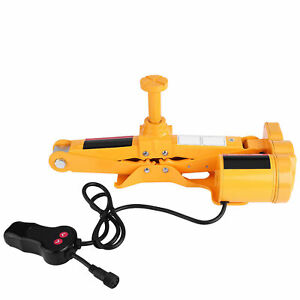 3 Ton Automotive Electric Scissor Car Suv Head Floor Lift W controller