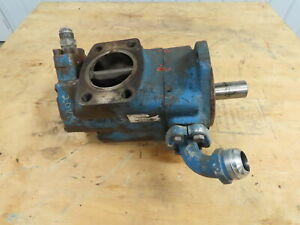 Vickers 3520v 38a 14 1 Dd Double Vane Hydraulic Pump 3 Inlet 38 14 Gpm Sae c