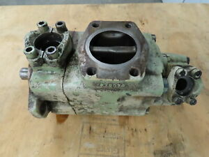 Vickers 4525v 42a 21 Ab 20l 282 Double Vane Hydraulic Pump 3 5 Inlet 42 21 Gpm