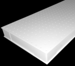 New Vere Optical Table Breadboard 18 X 72 X 2 3 Factory Direct Item