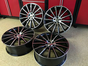 Mercedes 17 In Black Edt E63 Multispoke Sport Rims Wheels E350 E550 E Fit Amg