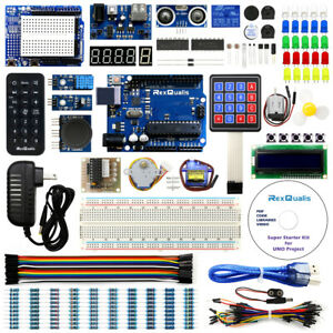 Arduino Uno R3 Project Starter Kit R3 Development Board By Rexqualis