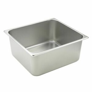 Winco Sptt6 S s 2 3 Size X 6 d Steam Table Pan