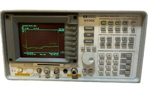 Hp 8596e 9 Khz To 12 8 Ghz Portable Spectrum Analyzer Good Condition