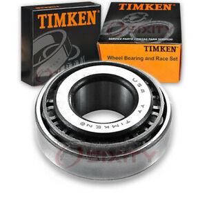 Timken Front Outer Wheel Bearing Race Set For 1965 Oldsmobile Dynamic Ze