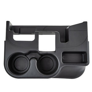 Black Console Cup Holder For Dodge Ram 1500 2500 3500 1999 2001 Ss281azaa