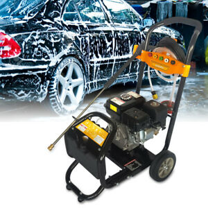 7 5hp Gas Power Portable High Pressure Washer Surface Cleaner 9 L min Ohv motor