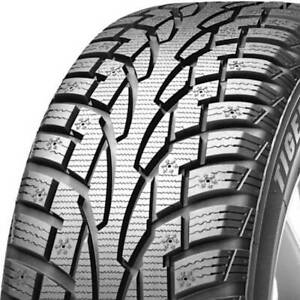 1 New 235 60r17 Uniroyal Tiger Paw Ice Snow 3 102t 235 60 17 Winter Tires