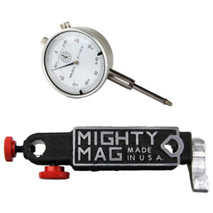 Mighty Mag 400 3 Magnetic Base With Release Lever 1 Dial Indicator Set
