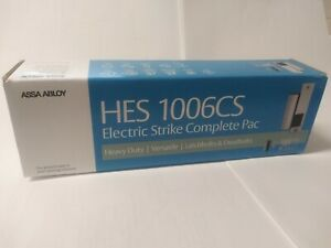 Assa Abloy hes 1006cs Electric Strike 12 24vdc 630 stainless Steel New In Box