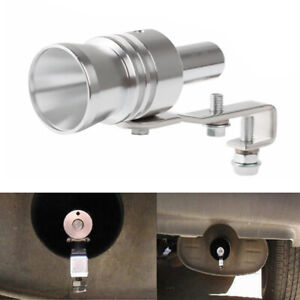 Car Accessories Blow Off Valve Noise Turbo Sound Whistle Simulator Muffler Tip