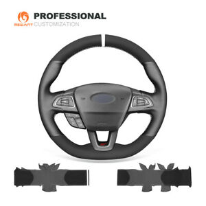 Suede Genuine Leather Car Steering Wheel Cover For Ford Focus St Rs 2015