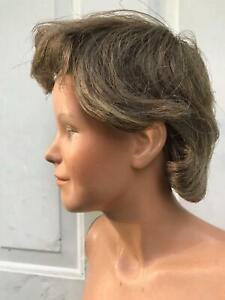 Vtg 1970s Mannequin Hindsgaul Teen Youth Full Body 1404 Wig No Arms Halloween