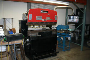 Amada Rg25 Press Brake 25 Ton 47 Hurco Cnc Backgauge