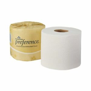 Georgia Pacific Preference 2 ply Toilet Tissue Paper Rolls White 80 Ct 18280 01
