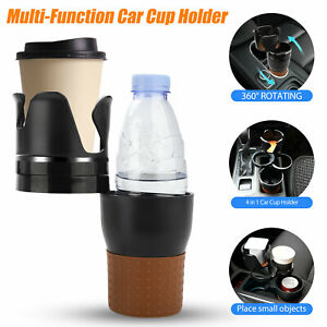 4 In1 Adjustable Auto Car Seat Cup Holder Drink Coffee Bottle Phone Pens Glasses
