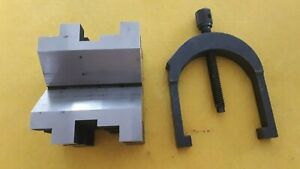 Starrett 568a V block And Clamp Flawlesscondition Out Of Box