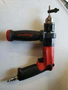 Snap On Air Pneumatic Drill Pdr5000a 1 2 Reversible Drill