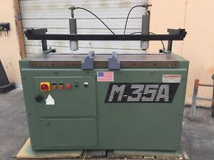 Used Morbidelli M 35a 35 Spindle 32 Mm Construction Line Boring Machine