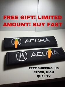 2pcs Soft Car Seat Belt Cover Shoulder Pad Fit For Acura Car High Quality