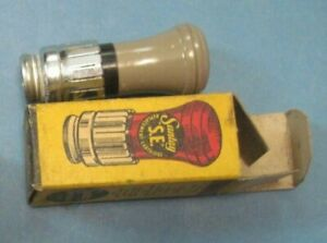 Vintage Santay Nos Cigar Lighter Oil Gas Original 1940s Gm Ford Chevy Bomb Gray